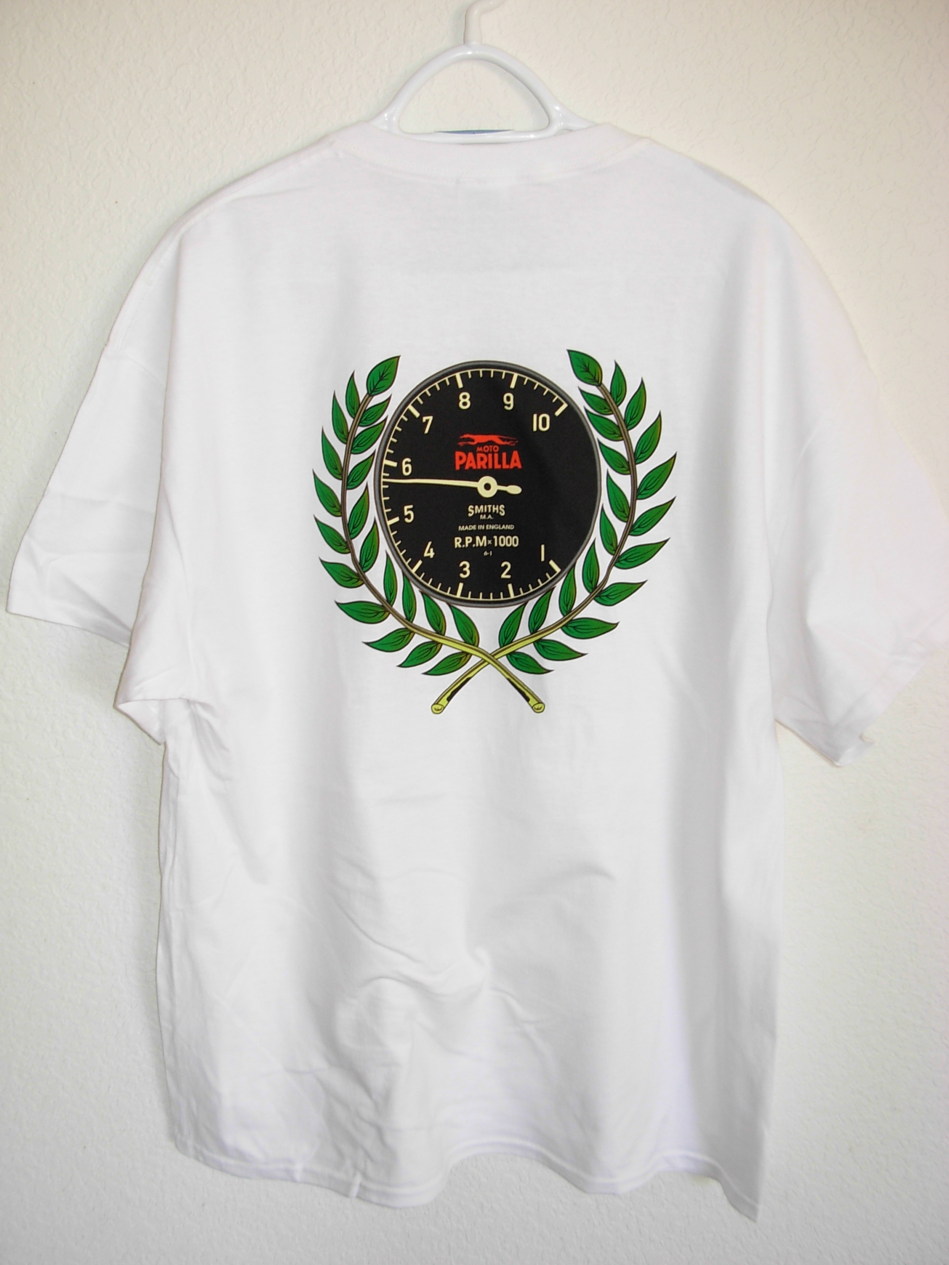 "Beautiful Parilla Days USA ""Tachometer"" T-shirt"